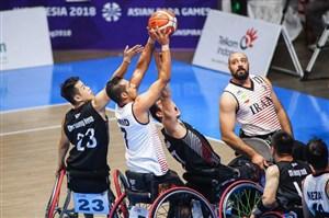 آغاز لیگ برتر بسکتبال با ویلچر با پیروزی ملیحفاری
