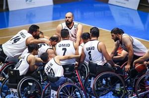 طلای پنجاه و یکم ایران به نام بسکتبال با ویلچر