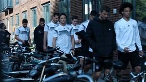 پیاده روی و آخرین تمرین آلمان برای تقابل با هلند