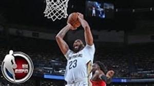 10 حرکت برتر در بازی های پیش فصل NBA