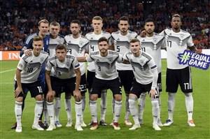 ترکیب متفاوت آلمان مقابل فرانسه با 6 تغییر
