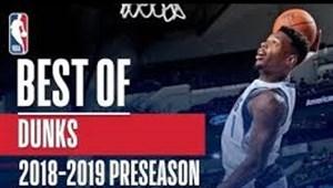 برترین اسلم دانک های پیش فصل لیگ ان بی ای 2018