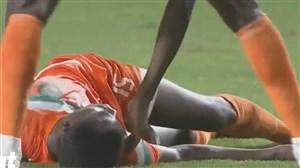 نجات جان بازیکن نیجر توسط پزشک تونس