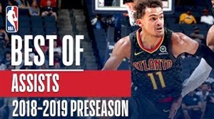 برترین پاسهای منجر بهامتیاز NBA (پیشفصل 2018)