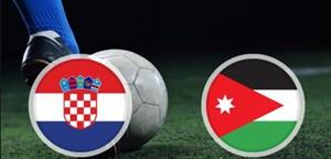 خلاصه بازی کرواسی 2 - اردن 1