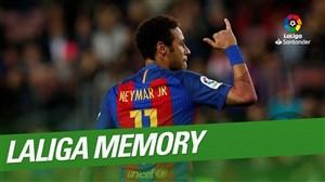به یاد لحظات حضور نیمار در لالیگا اسپانیا
