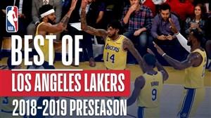 بهترینهای لس آنجلس لیکرز در فصل 19-2018 NBA