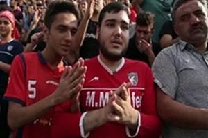 هوادار معروف نساجی مازندران در میان ورزشکاران روشندل