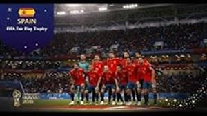 تیم ملی اسپانیا ; بهترین تیم در رعایت اخلاق جوانمردانه
