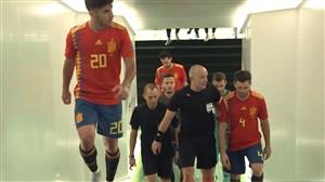 حواشی قبل و بعد از بازی انگلیس - اسپانیا
