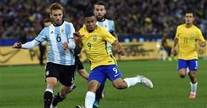 ترکب اصلی برزیل و آرژانتین اعلام شد