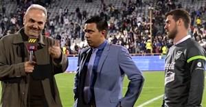 مصاحبه خیابانی با مربی بولیوی پس از بازی با ایران