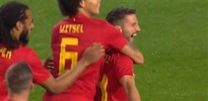 شوت دیدنی مرتنز گل اول بلژیک به هلند