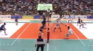 خلاصه والیبال شهرداری گنبد کاووس 3 - شهروند اراک 1