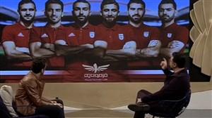 چالش فوتبالی امیرحسین صدیق