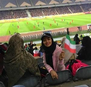 حرفهای تماشاچی جنجالی بازی ایران -بولیوی