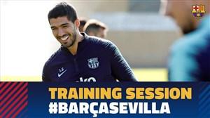 تمرین تیم بارسلونا (25-07-97)