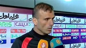مصاحبه با بازیکنان و مربیان پس از بازی پرسپولیس - نود ارومیه