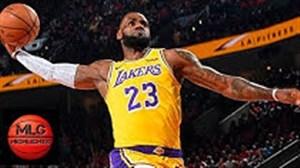 خلاصه بسکتبال لس آنجلس لیکرز - پورتلند بلیزرز