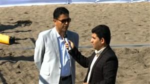 توضیحات بیداریان درباره باخت والیبال ساحلی ایران به قزاقستان