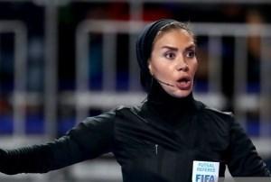 گلاره ناظمی ؛ افتخار داوری ایران