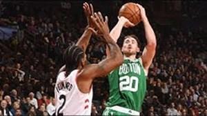 خلاصه بسکتبال بوستون سلتیکس 101 - تورنتو رپتورز 113