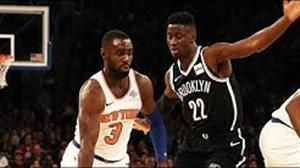 خلاصه بسکتبال نیویورک نیکس 105 - بروکلین نتز 107