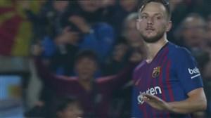 گل چهارم بارسلونا به سویا (راکیتیچ)