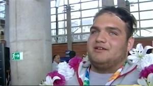 ورود کاروان پر افتخار المپیک جوانان به کشور
