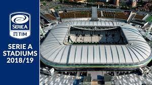 استادیوم های سری آ ایتالیا در فصل 19-2018