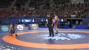 شکست 10 بر 0 مجتبی گلیج در برابر نماینده آذربایجان