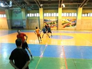تمرین آمادگی جسمانی داوران لیگ برتر فوتسال کشور