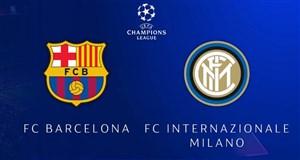 خلاصه بازی بارسلونا 2 - اینتر 0