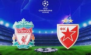 خلاصه بازی لیورپول 4 - ستاره سرخ بلگراد 0