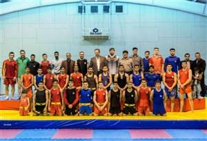 تمرینات آماده سازی تیم ملی ووشو برای رقابت های جام جهانی
