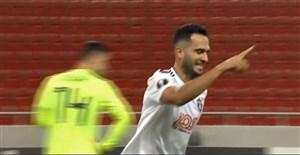 گلزنی علی قربانی در لیگ اروپا 19-2018
