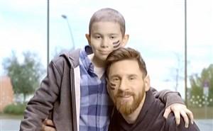 حرکت زیبا و انسان دوستانه لیونل مسی