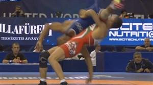 پیروزی گرایی با ضربه فنی حریف مصری (67 کیلوگرم)