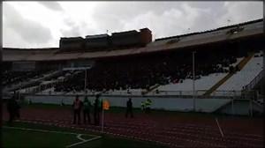 وضعیت ورزشگاه یادگار در آستانه بازی تراکتور-سپیدرود