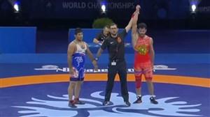 شکست عبدولی در رده بندی برابر نماینده ارمنستان