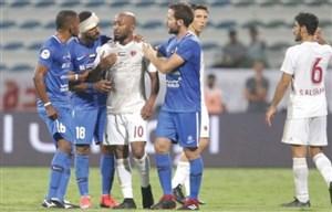 اشک های اسطوره امارات، بازی را متوقف کرد!