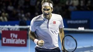 دراپ شات های استثنایی راجر فدرر ستاره تنیس جهان