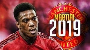 عملکرد آنتونی مارسیال در فصل 19-2018