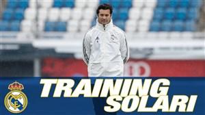 تمرین امروز تیم رئال مادرید زیر نظر سولاری (09-08-97)