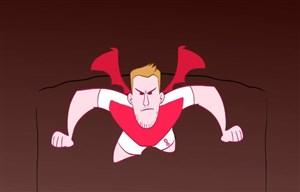 تونل وحشت کارتونی تیم آرسنال به مناسبت هالووین
