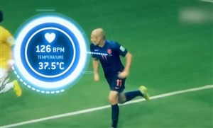 استفاده از سیستم ردیابی الکترونیکی در فوتبال روز دنیا