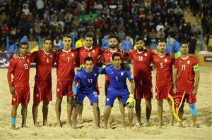 فوتبال ساحلی؛ ایران – آمریکا در ساعت 19:30