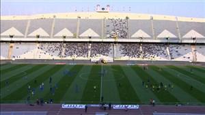 حال و هوای استادیوم آزادی پیش از دیدار استقلال - سایپا