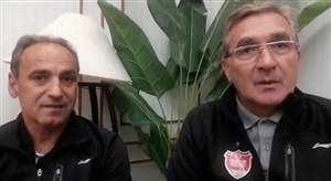 گفتگو با برانکو درباره وضعیت پرسپولیس و دیدار فینال