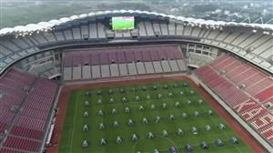 کمپ اردوگاه آتلانتیک در ورزشگاه کاشیما